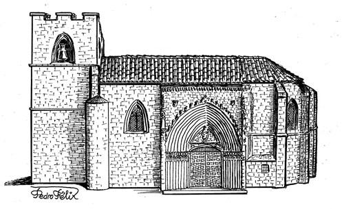 Fachada sur de la iglesia de San Juan