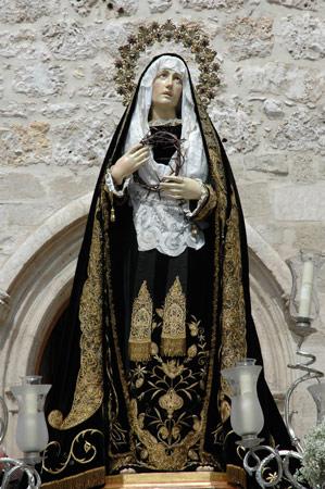 Burgos | Sábado Santo | Virgen de la Soledad