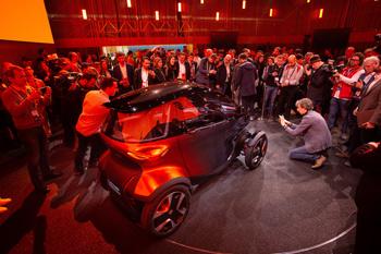 Presentación del 'Minimó' durante el reciente Mobile Wordl Congress de Barcelona