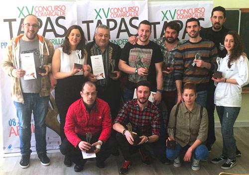 Ganadores del Concurso de Tapas 2016