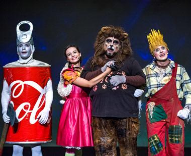 Teatro Infantil. El mago de Oz. Nacho Vilar