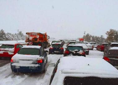 Postura de PBPCYL sobre nevadas en la zona central del País