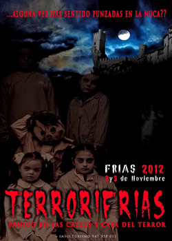 Cartel Anunciador de Terrorifrías 2012