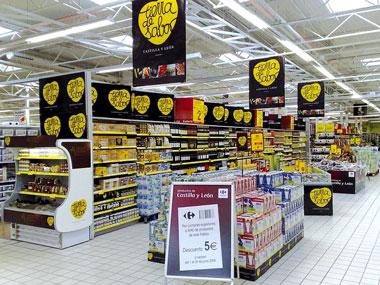 Promoción de productos Tierra de Sabor en los supermercados