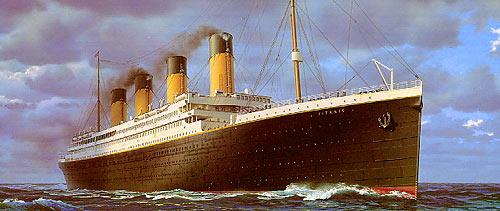 El Titanic, todo un mito... también a nivel Gastronómico.
