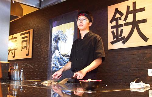 El Chef Lai Lai Xu del Tokyo. Fotografía: Javier Marqués