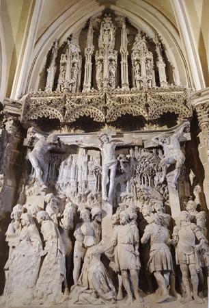 Detalle del Trasaltar de la catedral de Burgos