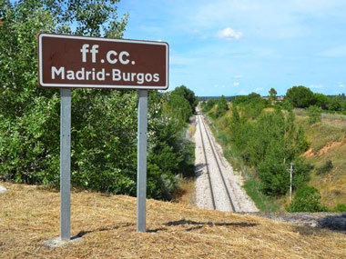 Línea ferroviaria Madrid-Burgos