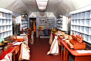 Museo en el interior del Tren