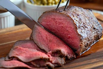 Cortar un Roast beef