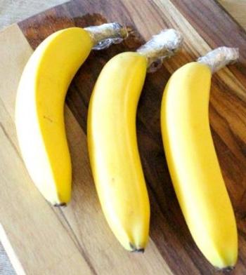 Conservar los plátanos más tiempo