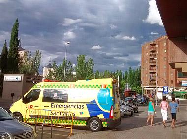 Foto: J.Marqués | Servicio de Urgencias en Aranda de Duero