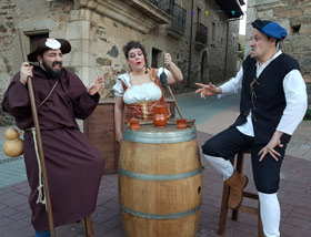 """Teatro-Comedia Medieval """"La Taberna de Susa"""""""