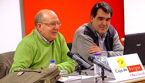 Fotografía: Javier Marqués |  Fernando Cardero Elso durante la conferencia
