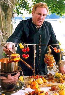 Depardieu interpretando a Vatel