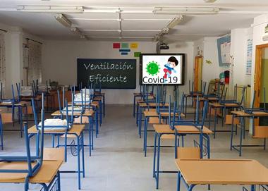 ventilacion colegios Reclaman a Educación la revisión de los sistemas de ventilación para evitar los contagios