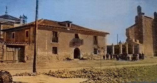 Imagen antigua de la Iglesia Veracruz