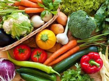 Las verduras y su color
