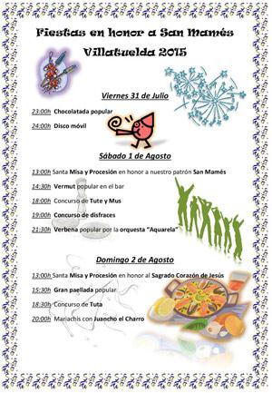Fiestas Villatuelda 2015