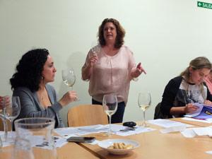 Cata en Ribera del Duero con Educator Jeni Wilson