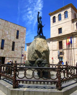 Plaza Viriato, Zamora