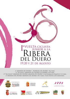 Cartel de la I Vuelta Ciclista Junior Ribera del Duero