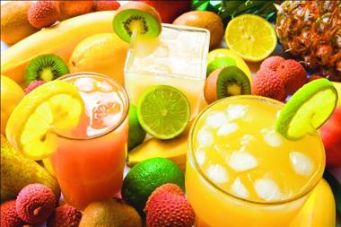 Kiwi, la fruta de la pasión, papaya, mango...